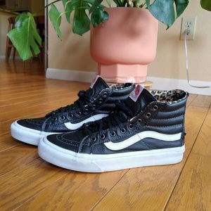 Vans Sk8 Hi leather sneakers